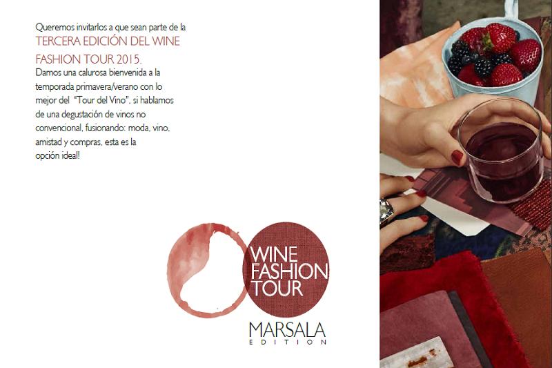 WineFashionTour Marsala