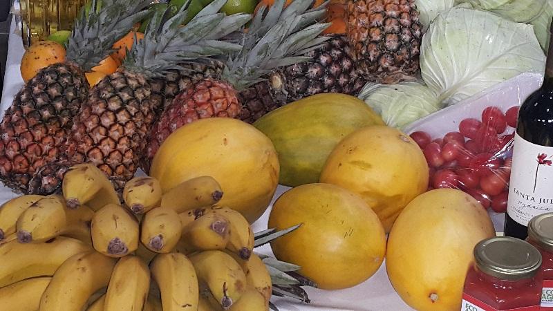Mongaru frutas