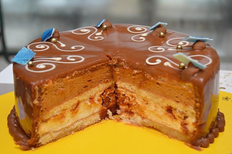 Las tortas de Honey con una marca registrada. Una especialidad de la casa.