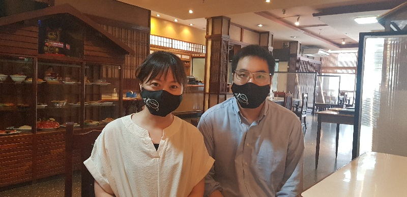 Susana Nagasawa y Juan Carlos Uchiyamada son los actuales responsables del restaurante. Ambos de 35 años de edad.