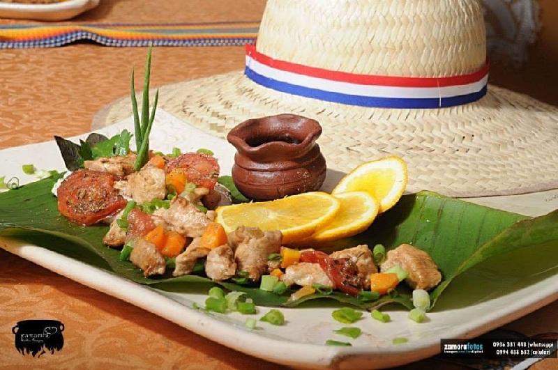 Este plato denominado Chululu, era el preferido de Madame Lynch. También en versión del chef Vidal Domínguez Díaz.