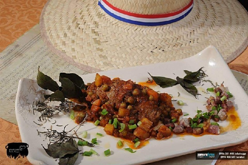 Este era el plato preferido del Mariscal López: lomo trinchado. En la foto aparece la versión realizada por el chef Vidal Dominguez Díaz.
