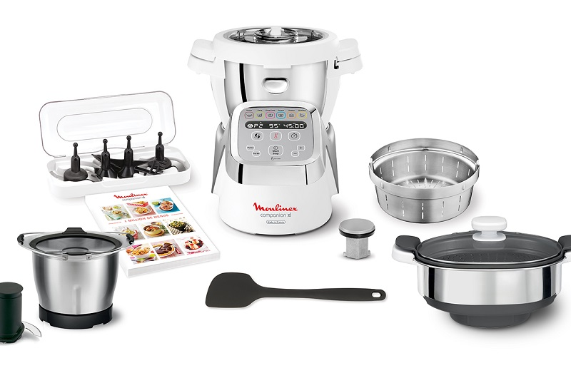 Este compacto equipo es un cocinero automático. Uno elige la receta, introduce los ingredientes y no necesita supervisión alguna. Un verdadero aliado para los cocineros profesionales y para los aficionsdos a la cocina.