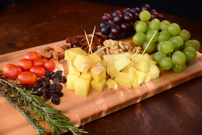 Las tablas de queso están al final de la ruta del queso y es el momento mas esperado por los participantes.